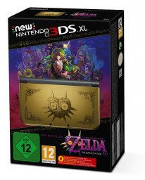 console new 3DS XL Zelda The Majoras Mask Collector