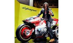 Cyberpunk 2077 : une vidéo making of et des photos de Keanu Reeves au TGS