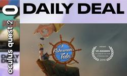 Daily Deal Oculus Quest 2 : en promotion aujourd'hui, un conte interactif et deux packs Rétro et Adrénaline ! (23-01-2021)