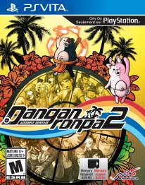Danganronpa 2 Goodbye Despair cover jaquette boxart psvita