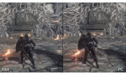 Dark Souls III 3 Comparaison PS4 PC