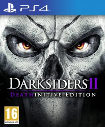 Darksiders II Deathinitive Edition jaquette PS4