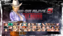 Dead or Alive 5 The Last Round images tenues (13)