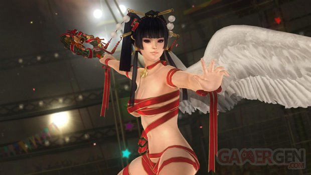 Dead or Alive 5 Ultimate tenue noel (1)