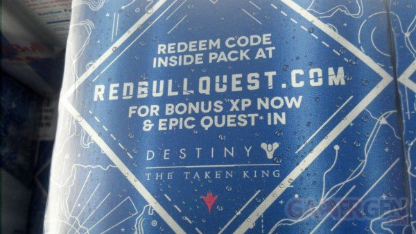 Destiny Red Bull DLC The Taken King