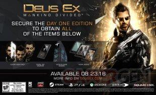 Deus Ex Mankind Divided 28 04 2016 édition 1