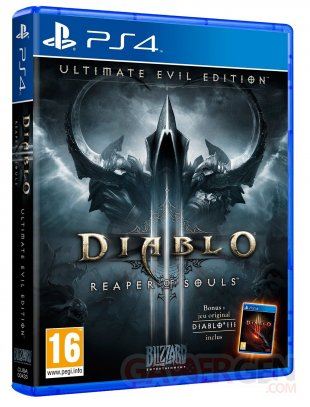 Diablo III reaper of souls ultimate evil édition PS4