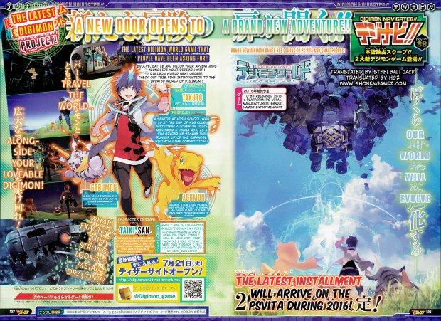 Digimon World Next Order scan