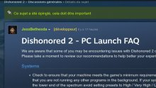 dishonored 2 bugs screenshot steam