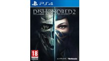 Dishonored 2 jaquette cover PS4