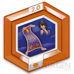 Disney Infinity 2 0 Marvel Super Heroes 07 08 2014 Aladdin Jasmine power disc 1