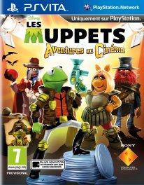 Disney The Muppets Movie Adventure Aventures Cinéma 08 08 2014 jaquette
