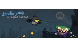 Doodle Jump DC Super Heroes banner