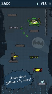 Doodle Jump DC Super Heroes screenshot 1.