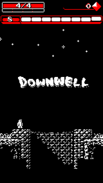 Downwell Screen.