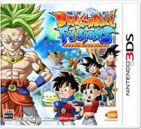 Dragon Ball Fusions jaquette couverture
