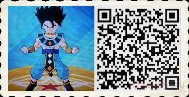 Dragon Ball Fusions QR Code images (1)
