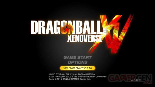 Dragon Ball Xenoverse 2 images sauvegarde