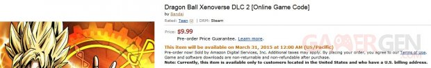 Dragon Ball Xenoverse second DLC pack