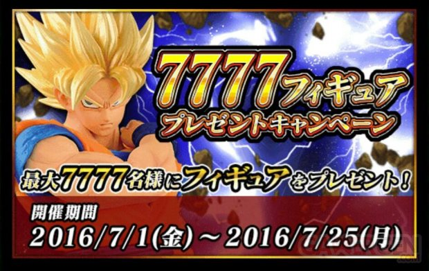 Dragon Ball Z Dokkan Battle bonus connexion 77,77 telechargements images (4)