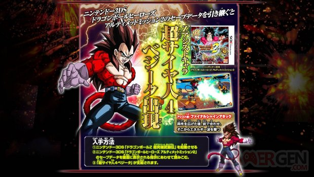 Dragon Ball Z Extrem Butoden Vegeta