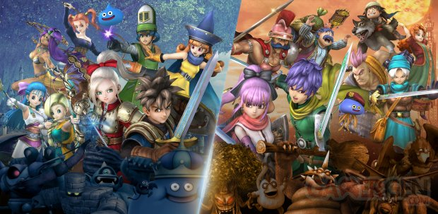 Dragon Quest Heroes I II Switch images