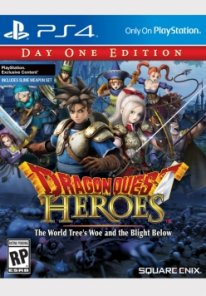 Dragon Quest Heroes The World Trees Woe and The Blight Below Da One Edition box art