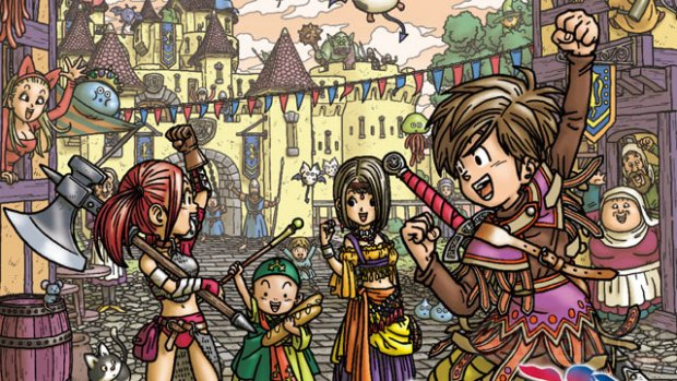 Dragon Quest IX artwork