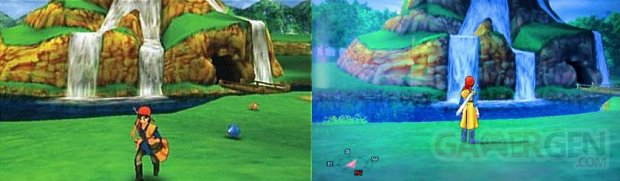 Dragon Quest VIII  L'Odyssée du Roi Maudit  comparaison (1)