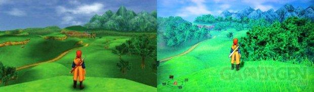 Dragon Quest VIII  L'Odyssée du Roi Maudit  comparaison (2)