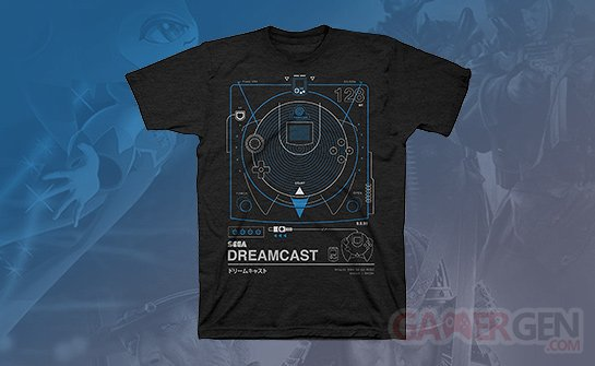 dreamcast exclusive tshirt humble