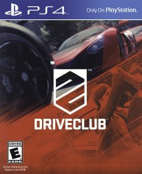 driveclub jaquette boxart cover ps4