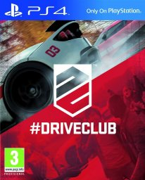 driveclub jaquette cover ps4