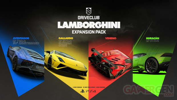 DRIVECLUB Lamborghini DLC