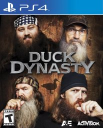 duck dynasty jaquette boxart cover ps4