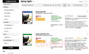 Dying Light Fnac