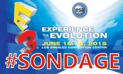 E3 2015 sondage