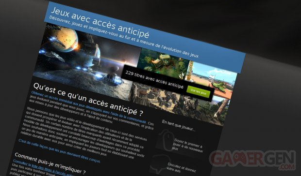 early access anticipe