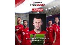 eFootball PES 2020 : une date et de premiers visages actualisés pour le Data Pack 3.0