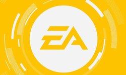 Electronic Arts logo EA head banner