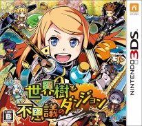Etrian Mystery Dungeon jaquette 2