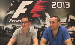 F1 2013 interview head