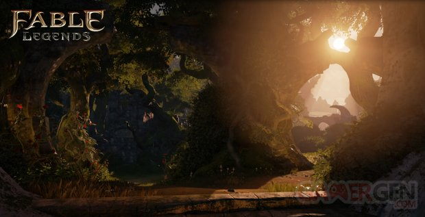Fable Legends 10 07 2014 effets lumineux screenshot