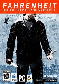 Fahrenheit Indigo Prophecy Remastered 24 01 2015 jaquette