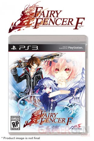 Fairy Fencer F jaquette