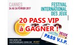 festival international jeu cannes 20 pass vip profiter salon mode grande classe