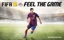 FIFA 15 cover wallpaper Lionel Messi