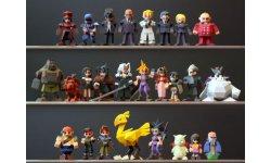 Final Fantas VII FFVII Figurines Shapeways 3D 1