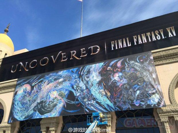 Final Fantasy 15 XV FFXV Uncovered Yoshitaka Amano