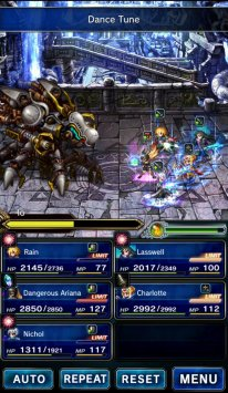 Final Fantasy Brave Exvius Ariana Grande screenshot 3